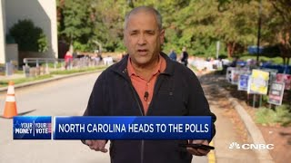 North Carolina heads to the polls—Here's how some residents are voting