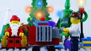 LEGO City Christmas Shopping Fail STOP MOTION LEGO Christmas Bad Luck | LEGO City | By Billy Bricks