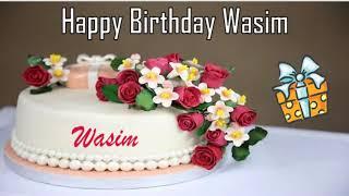 Happy Birthday Wasim Image Wishes✔