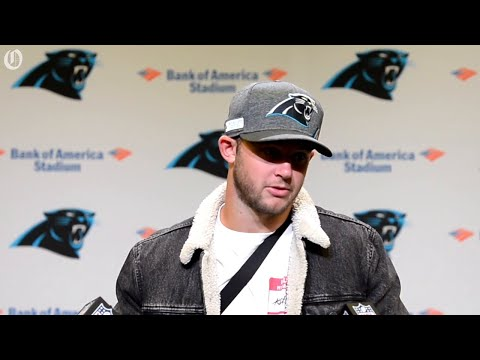 Panthers Kyle Allen breaks down passing touchdown to McCaffrey