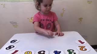 Занятия с детьми дома/развиваем малыша/ изучаем цифры/ обучаемся в игре