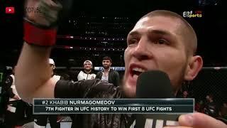 WAJIB NONTON!! Inilah seluruh pertandingan Khabib Nurmagomedov Episode 41