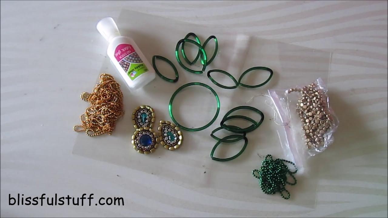 kundan rangoli design using bangles by poonam borkar