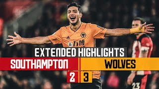 JIMENEZ BREAKS WOLVES' SCORING RECORD | Southampton 2-3 Wolves | Extended Highlights