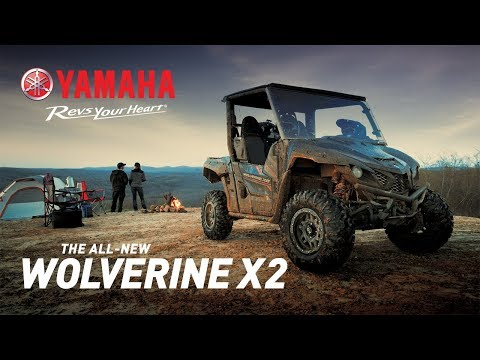 2019 Yamaha Wolverine X2 in Metuchen, New Jersey - Video 1