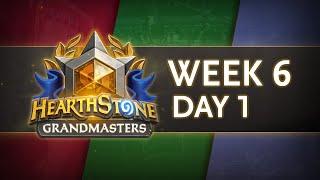 Hearthstone Grandmasters Season 1 Week 6 Day 1