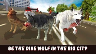 👺🐺👍Angry Wolf City Attack Simulator-Злой волк Атака на город - By wild Animals Life