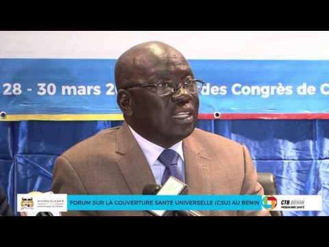 Forum sur la Couverture Santé Universelle au Bénin : trois jours de réflexion pour une amélioration du système de santé du Bénin