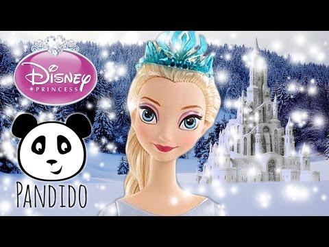 Disney FROZEN Elsa deutsch Eiskönigin Mattel Puppe - Disney Princess Elsa im Eis