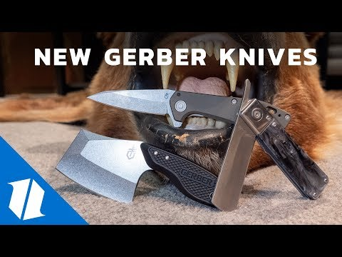 NEW Gerber Knives | SHOT Show 2019