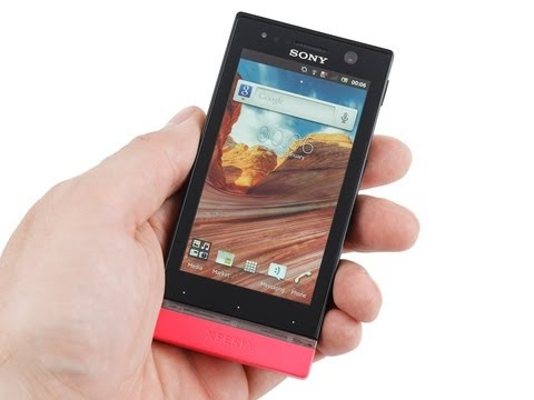 Sony Xperia U Review
