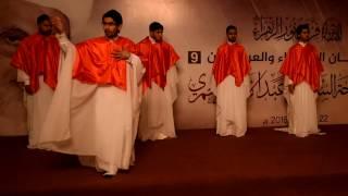 أوبريت إنشادي ( من أنا ) لفرقة نور الزهراء - مهرجان الوفاء والعرفان 9