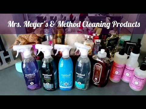 Method and Mrs. Meyer's Cleaning Products