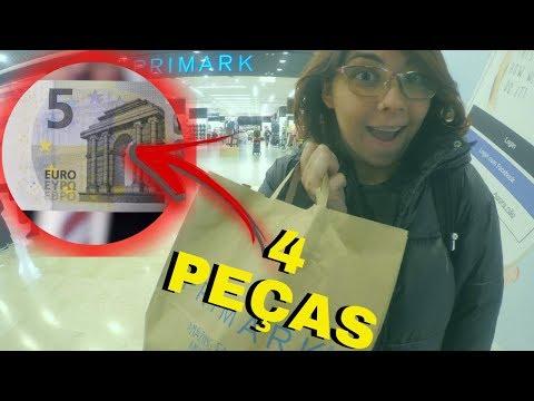 É RIDÍCULO OS PREÇOS NA PRIMARK PORTUGAL EP. 42 Desafio 365 Dias Preços em Portugal