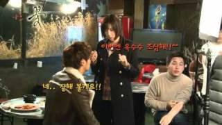"Юн Ши Юн, Как снимали сцену поцелуя в дораме ""Я тоже цветочек"" - Me To, Flower BTS Kiss Scene ep 6"
