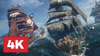 23 Minutes of Skull and Bones Gameplay in 4K - E3 2018 - dooclip.me