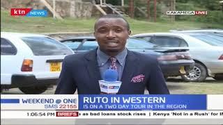 DP RUTO concludes Western region tour