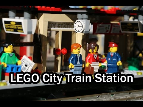 Vidéo LEGO City 60051 : Le train de passagers à grande vitesse