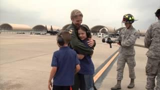 First female fighter pilot fini flight