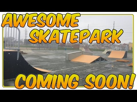 NEW SKATEPARK BUILD !! Canton Ohio