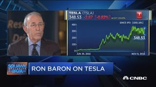 In 2030 Tesla could be a trillion-dollar company, says Ron Baron