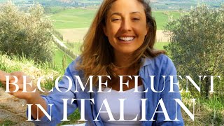 BECOME FLUENT IN ITALIAN: Beginner & Advanced Language Lesson In Tuscany, Italy