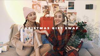VLOGGING IN KOREAN: Online Shopping, Seoul Flower Market, & Christmas Gift Exchange ft. @kinda cool?