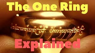 The One Ring explained