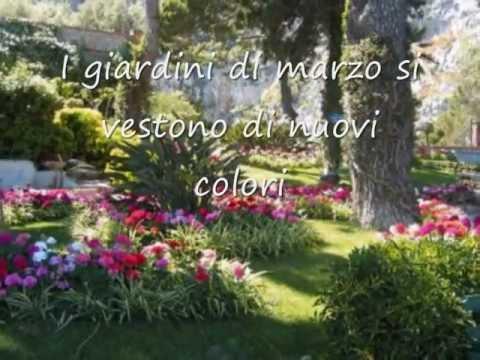 Testo i giardini di marzo lucio battisti testi canzone testi musicali - Testo i giardini di marzo ...