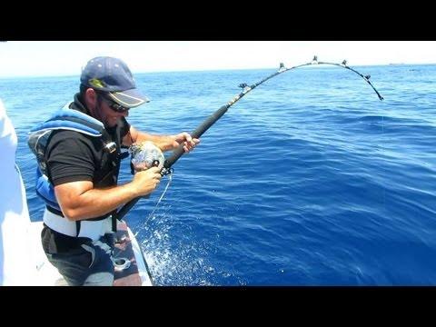 pesca de atun al currican de altura