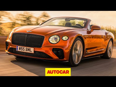 Bentley Continental GT Speed Convertible 2021 review - 208mph luxury drop-top driven - Autocar