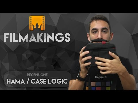 Borse da accessori  Hama e Case Logic - Video Recensione di Filmakings