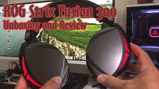 ROG STRIX FUSION 300 - Tai nghe tầm trung đến từ Asus