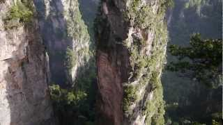 preview picture of video 'Avatar Hallelujah Mountain in Zhangjiajie'