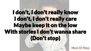 Zayn   WRoNg Ft. Kehlani Lyrics