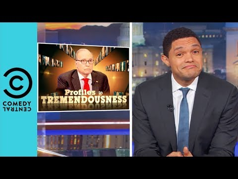 Larry Kudlow: Master Of Obama Bashing | The Daily Show With Trevor Noah