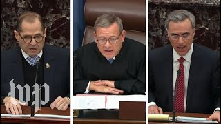 Nadler and Cipollone went off on each other. Then Chief Justice Roberts admonished both.