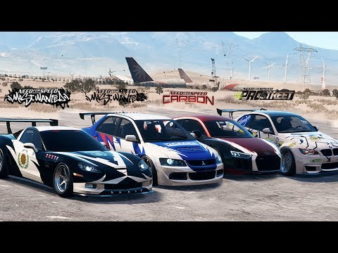 NFS Payback - Most Iconic NFS Cars / Cinematic