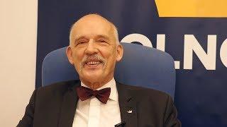 Korwin-Mikke: nagle okazuje się, że Adamowicz to kryształowy człowiek - NOWY WYWIAD