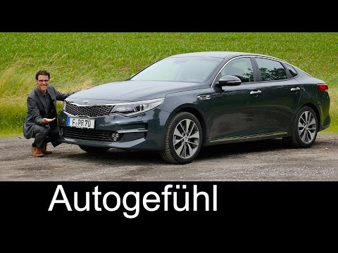 Kia Optima FULL REVIEW test driven all-new sedan/Limousine neu 2016/2017