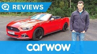 Ford Mustang Convertible 2018 in-depth review | Mat Watson Reviews