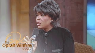 Oprah's Amazing Response in Support of Gay Rights | The Oprah Winfrey Show | Oprah Winfrey Network