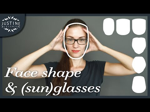 Good glasses & sunglasses for your face shape | Justine Leconte