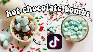 How To Make Hot Chocolate Bombs! TikTok Trend! | Hot Chocolate Bombs Tutorial | Paola Espinoza