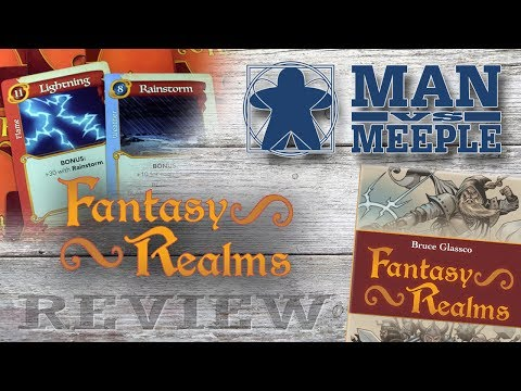 Fantasy Realms Review by Man Vs Meeple