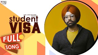 STUDENT VISA OFFICIAL AUDIO SONG  TARSEM JASSAR  Latest Punjabi Songs 2016