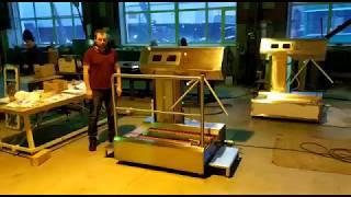 видео товара Станция гигиены рук и обуви (санпропускник) ASP-HL-03