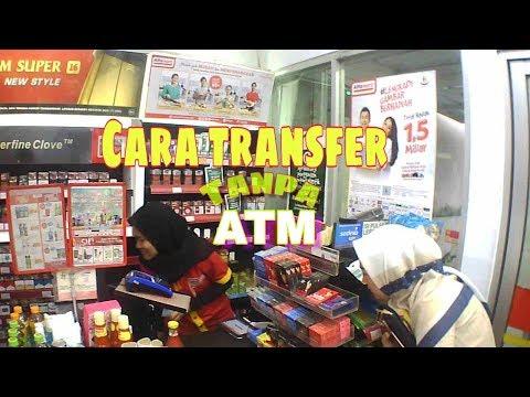 Tutorial transfer uang di Alfa mart tanpa ATM