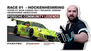 Can't Come Last | Porsche Community Legends | Finals Week 01