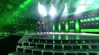 Blue, Blue - I Can (United Kingdom) - Live - 2011 Eurovision